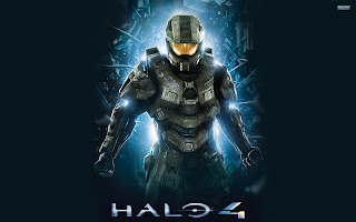 Halo 4 Master Chief Poster