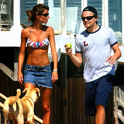 It was a five years long romance for the actor and the Brazilian supermodel, Gisele Bundchen, lasting from 2000 until 2005.