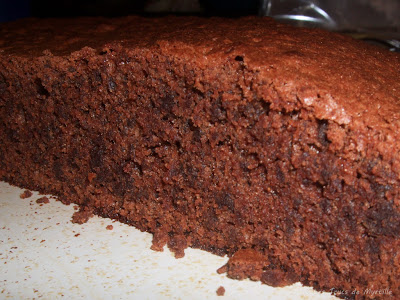 Fondant au chocolat (voir la recette)