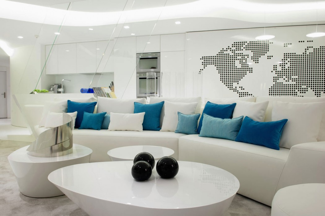 De 50 fotos de salas decoradas modernas peque as - Curso decoracion de interiores madrid ...