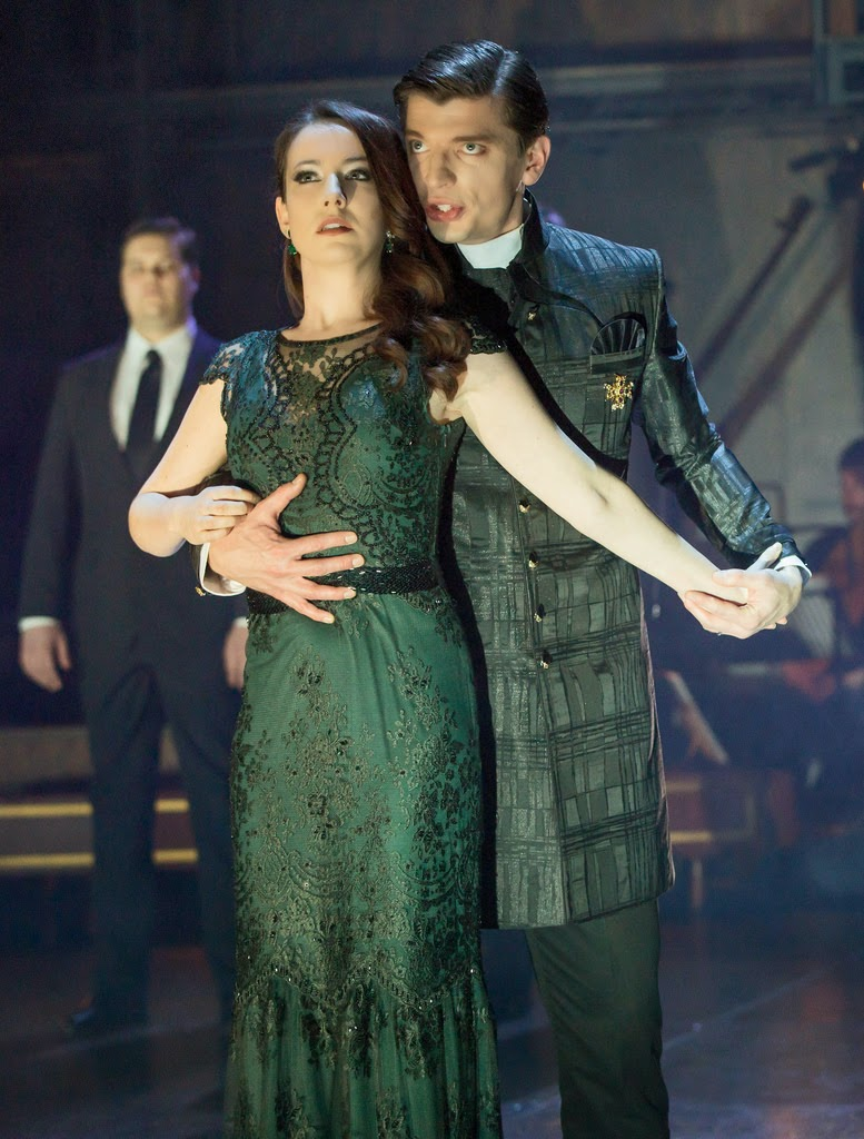 Monteverdi L'Orfeo - Rachel Kelly & Callum Thorpe - ©ROH 2015. Photo by Stephen Cummiskey