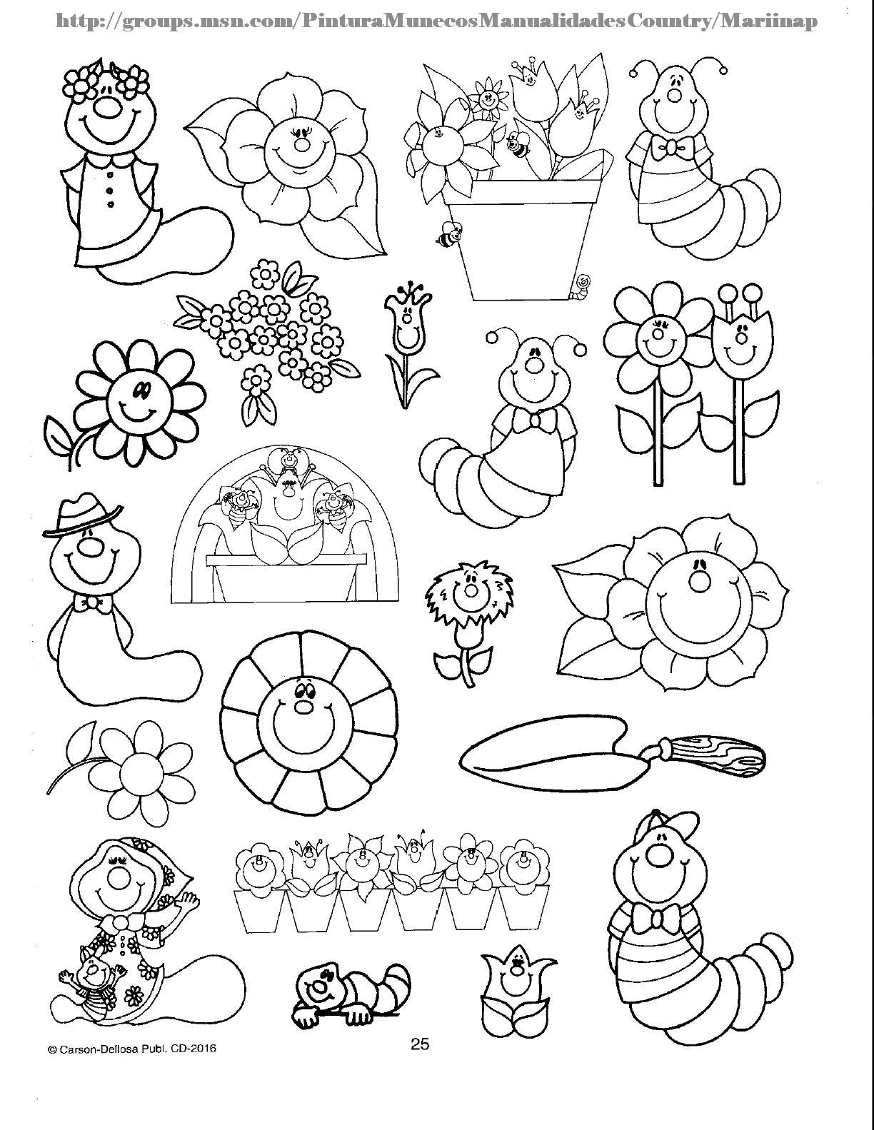 Renovados desenhos para imprimir e colorir - Fotos de insectos para imprimir ...