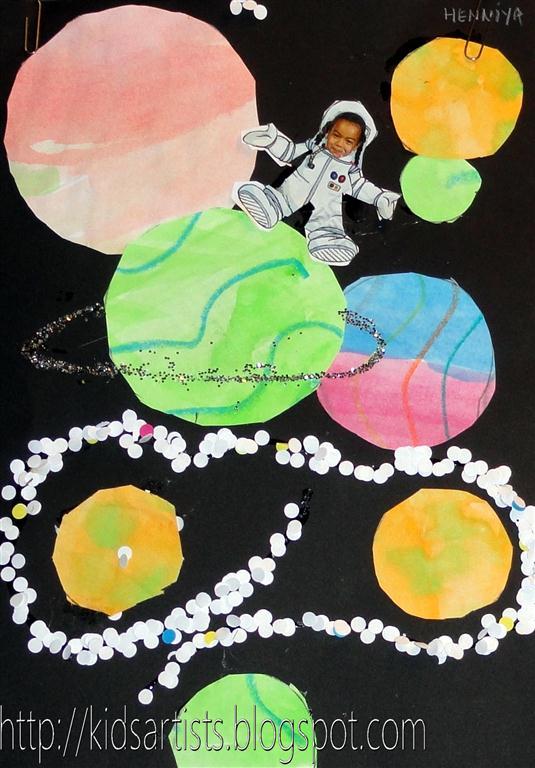 astronaut art project - photo #12