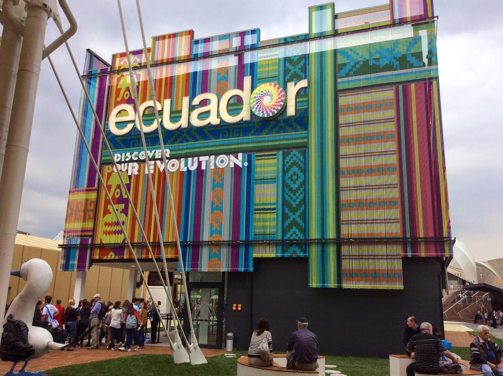 Expo Milano Stand Ecuador : Expo milano pics from ecuador pavilion