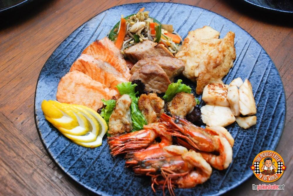 seafood tepanyaki