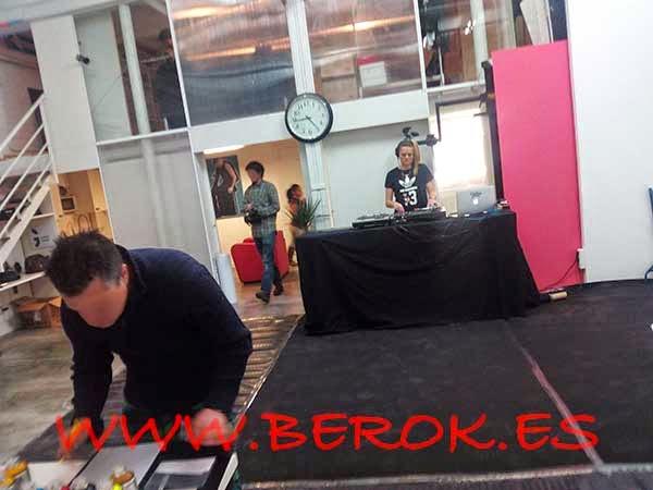 Preparación del evento de graffiti