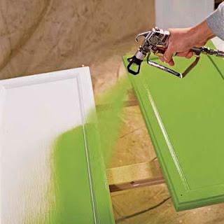 Peindre des portes de cuisine
