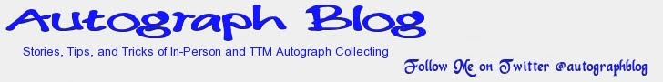 Autograph Blog - News, Tips, and Tricks of In-Person and TTM Autograph Collecting