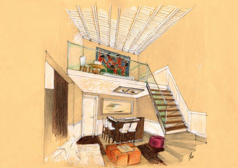 Vent 39 anni di disegni dell 39 arch antonio saporito schizzi for Disegni di interni