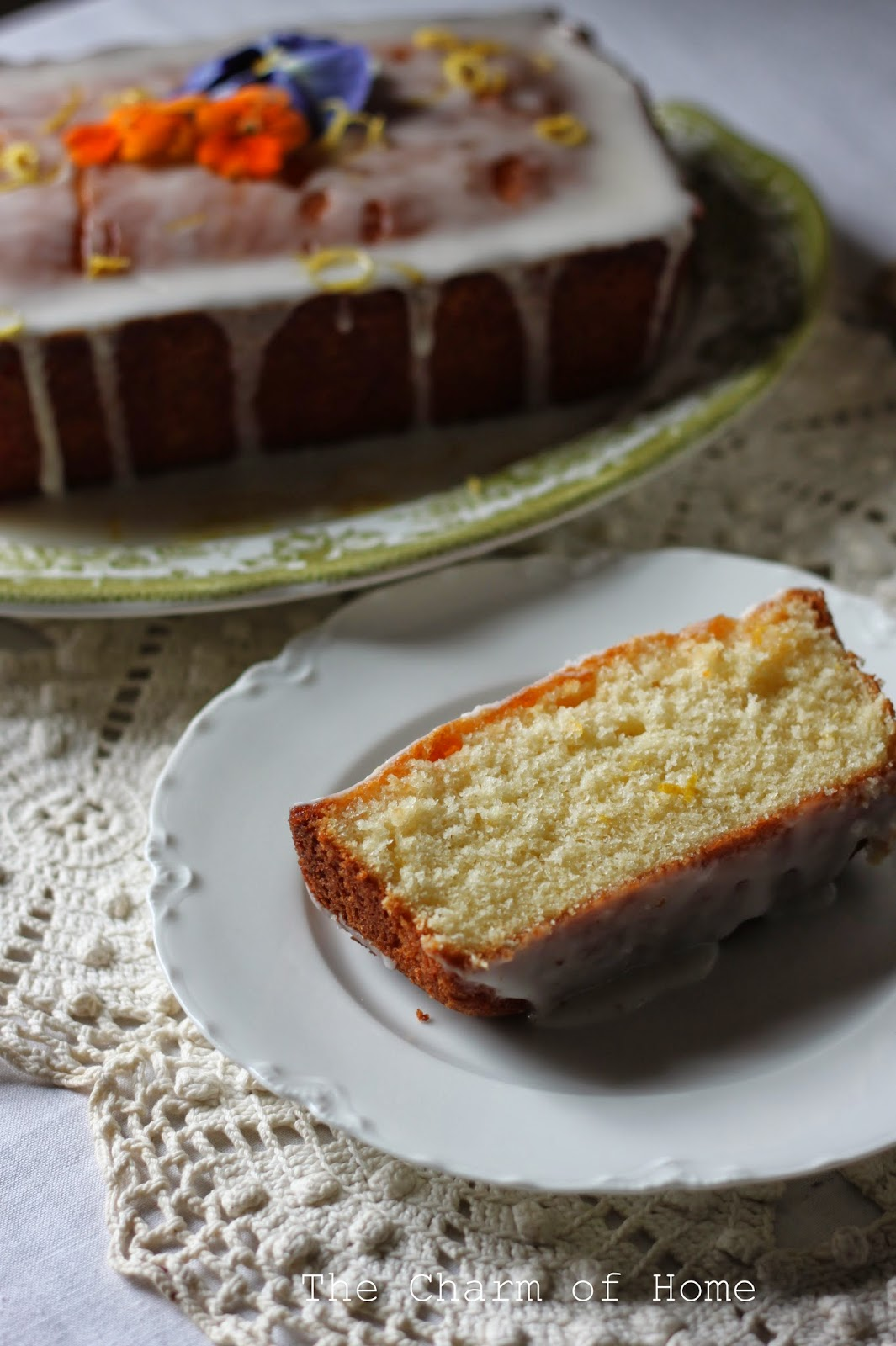 Lemon Pound Cake: The Charm of Home
