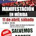 IU Mérida, con los/as trabajadores/as de ACOREX.