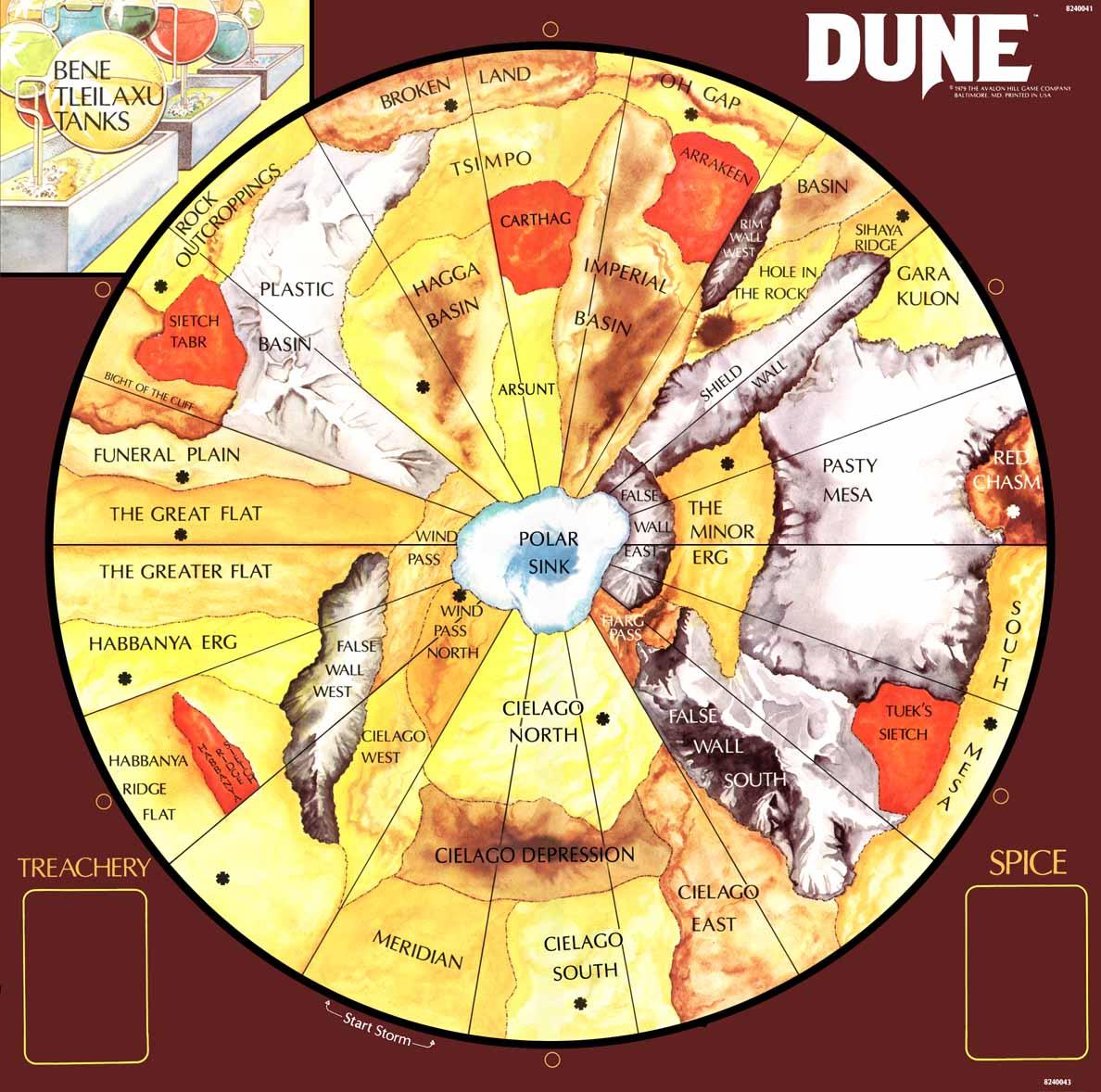 dune planet map - photo #3
