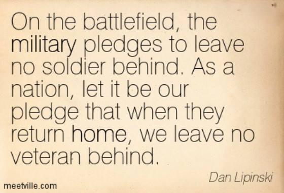 Leave No Veteran Behind