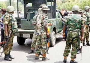 military takes over chibok
