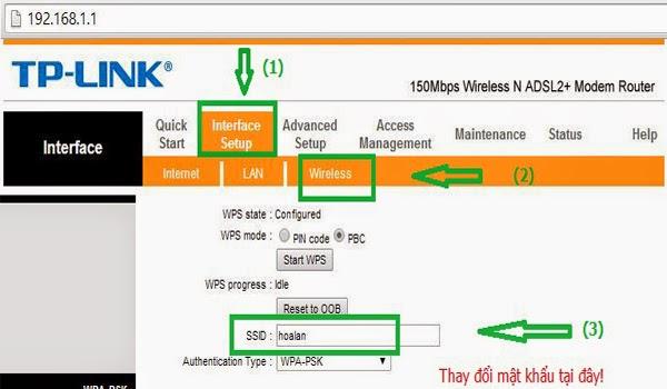 Hướng Dẫn Thay Đổi Tên Wifi Của FPT 1