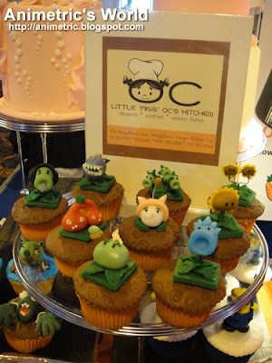 Plants vs. Zombies cupcakes from Little Miss OC's Kitchen