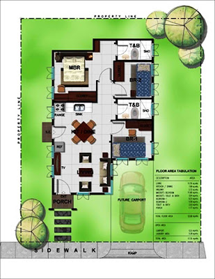 Bambu Estate Yumi Deluxe House Model Floor Plan