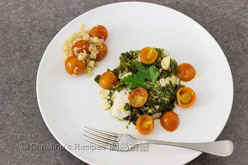 焗盲槽魚配番茄藜麥 Baked Barramundi Parcels02