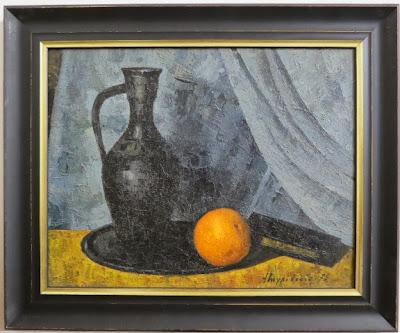 Туровский А, Натюрморт с апельсинами, 1975