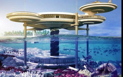 WATER DISCUS HOTEL -/ DUBAI / EMIRADOS ÁRABES - HOTEL DEBAIXO D-ÁGUA