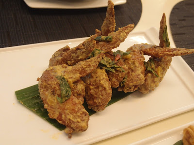Salted Egg Chicken Wing