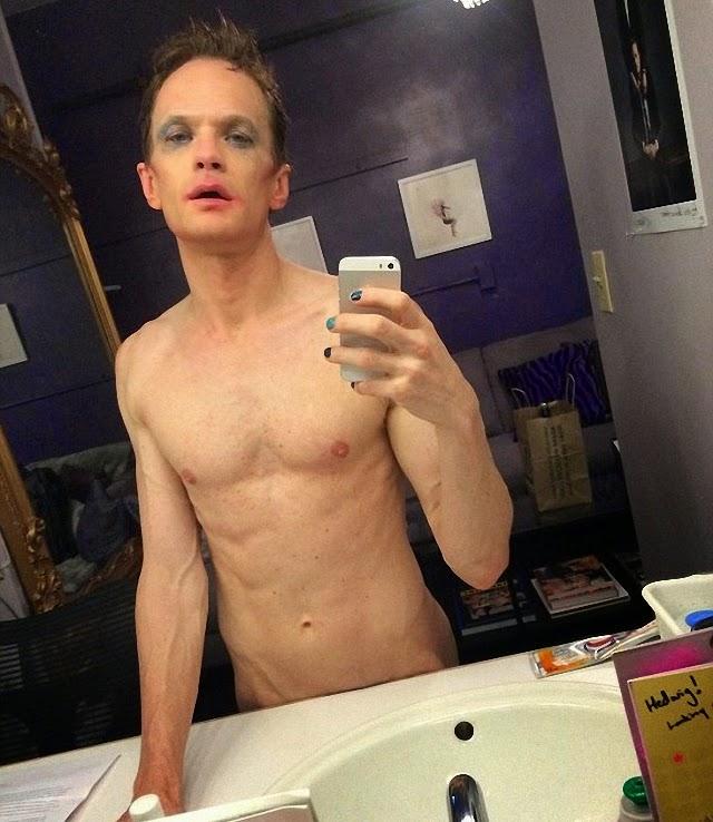Neil Patrick Harris se viste como un transexual