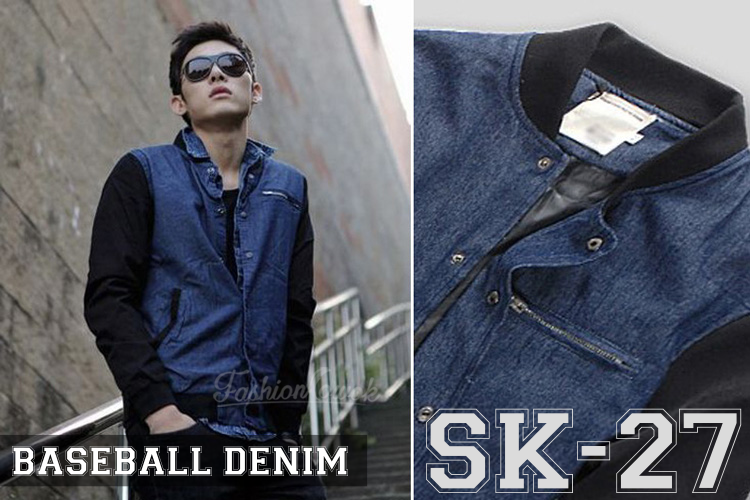 FASHION COWOK | Toko Jaket Online | Jaket Crows Zero | Jaket Korean Style | jual murah Jaket Denim Korean Style | Jaket National Geographic