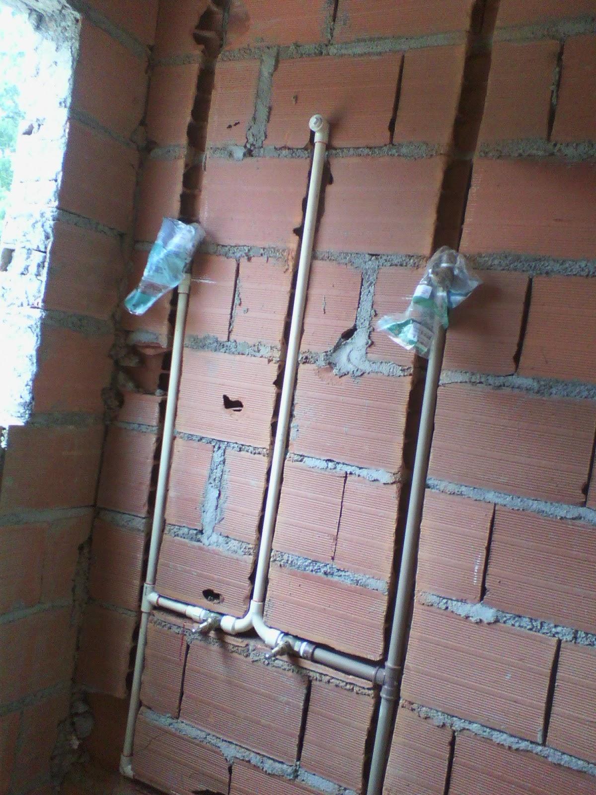 Casa Tony & Ta: Visita na obra Material de Hidráulica #41738A 1200 1600