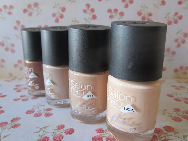 Esmaltes Salon PRO Nude Collection By Kate Moss Rimmel London