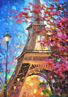Calles Parisinas Cuadros Modernos