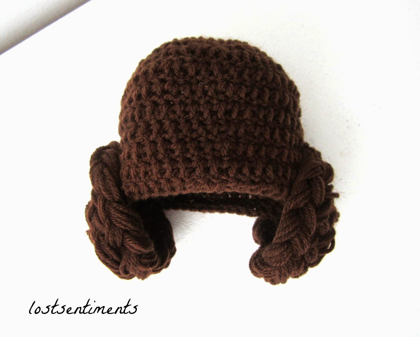 lostsentiments: Princess Leia Crocheted Hat for 3 - 6 ...