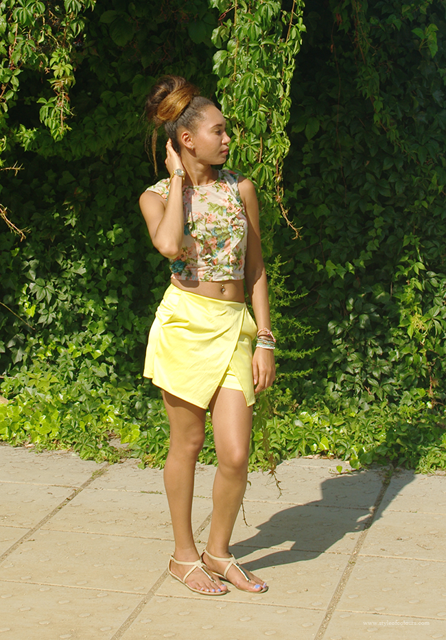 How to style skorts, the perfect pair of summer skorts