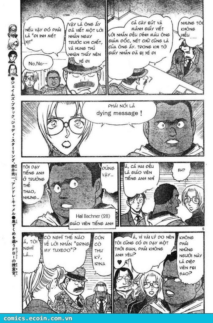 Detective Conan - Thám Tử Lừng Danh Conan chap 607 page 5 - IZTruyenTranh.com