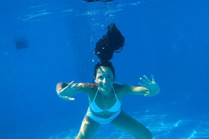 Hello under water