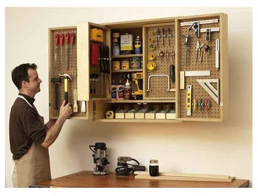 I Love That It Has 4 Doors Which Have Pegboards On Both Side So You Can  Really Maximize Itu0027s Usefulness. My All Time Favorite Feature Of This  Cabinet Are ...