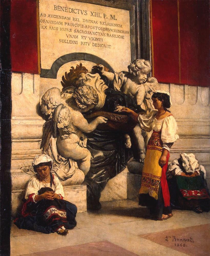 Leon  onat Vues de Rome