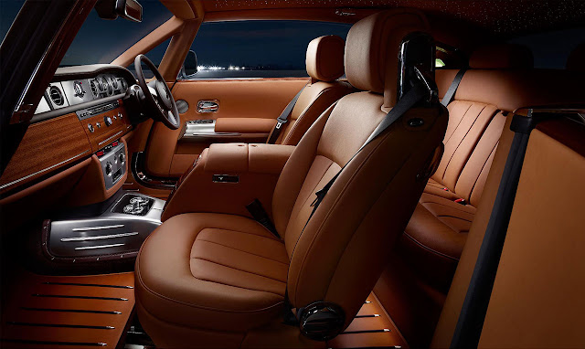 Rolls-Royce presented Phantom Coupé Aviator side