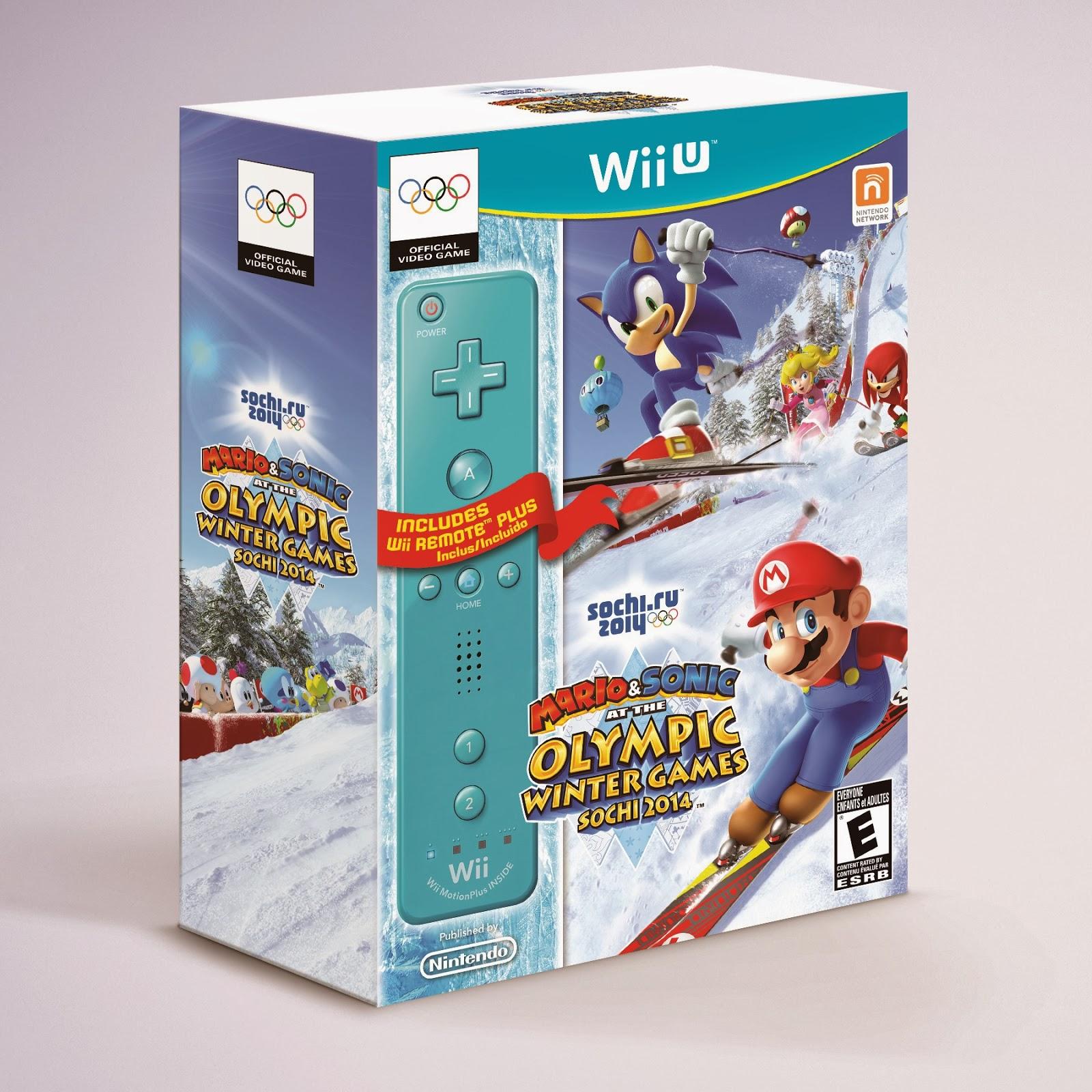 Mario Wii U Games