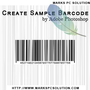 How to Create Barcode using Adobe Photoshop
