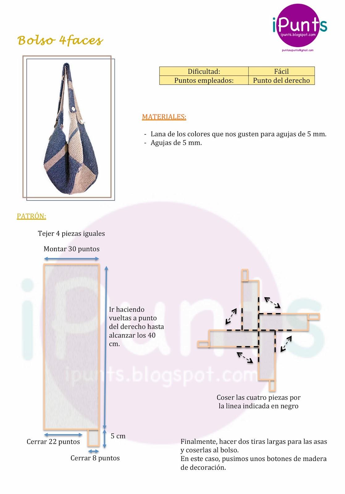 iPunts: Bolso 4faces