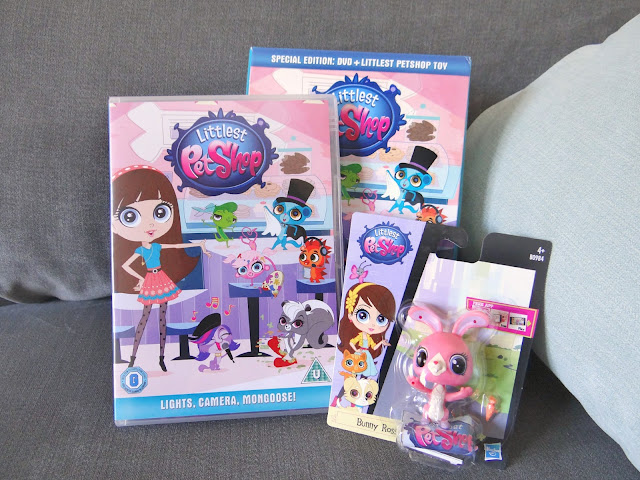 Littlest Pet Shop, Lights Camera Mongoose! DVD, pet toy