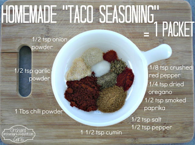 Orchard Girls: Make Your Own Seasoning Packets!