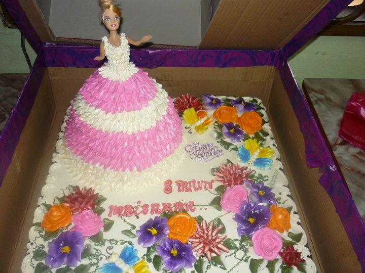 Baby Doll Cake Design : Zharin Home Made: Multiple Figure Cake