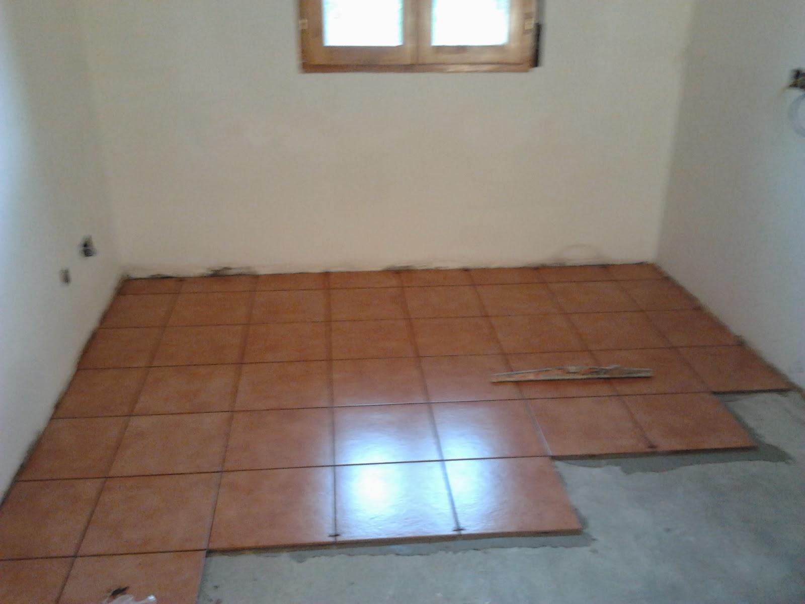 Colocado de baldosas r sticas quiero reformar mi casa - Como colocar suelo ...