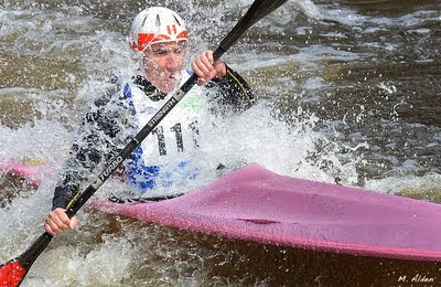 Robert Lang at the Kenduskeag Stream Canoe Race - photo by Michael Alden