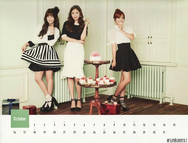 Apink calendar 2015 scans Chorong Naeun Eunji
