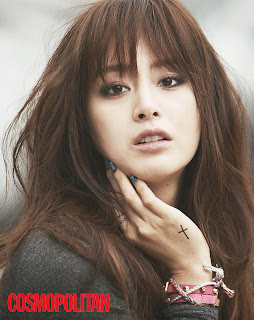 Kim Tae Hee - Cosmopolitan Magazine November Issue 2013