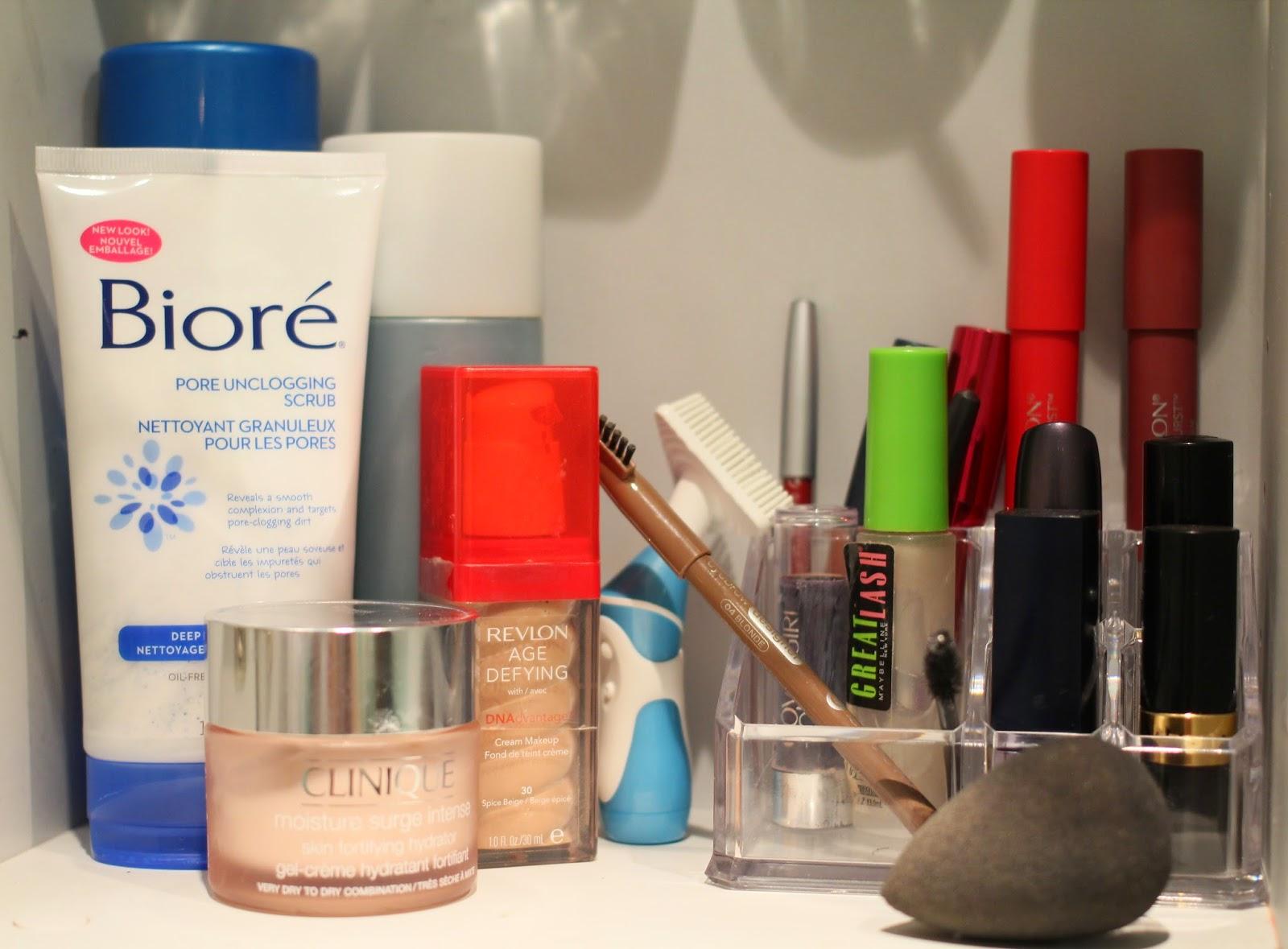 makeup organisation, makeup storage