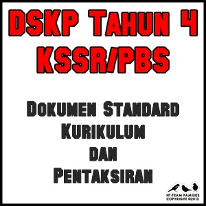 DSKP Tahun 4 KSSR Dokumen Standard Kurikulum dan Pentaksiran