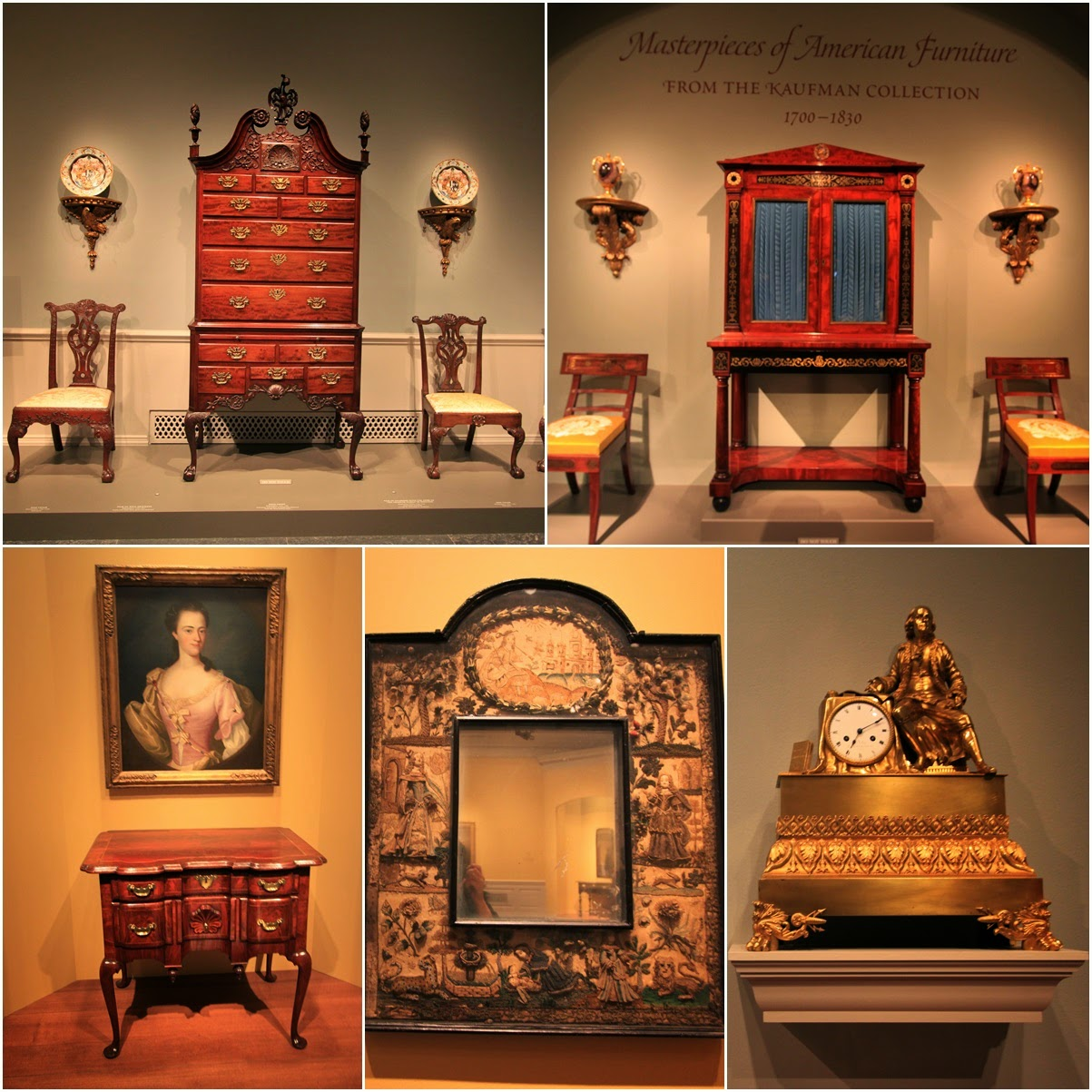 Various Antique American Furniture at National Gallery of Art in Washington  DC, USA - Smithsonian - Antique Furniture Dc Antique Furniture